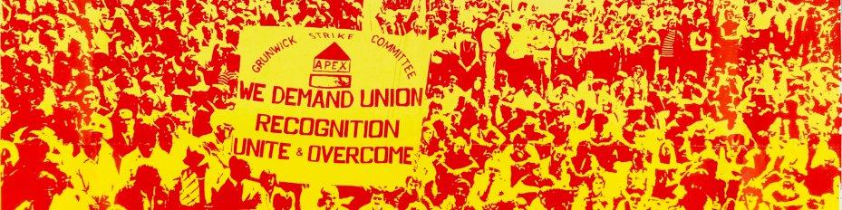 Grunwick strike film poster